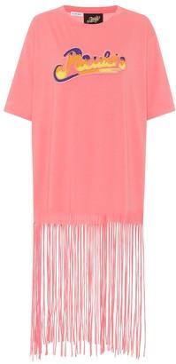 Loewe Paula's Ibiza fringed cotton T-shirt