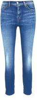 L'Agent by Agent Provocateur 'Nicoline' cutoff cuff cropped skinny jeans