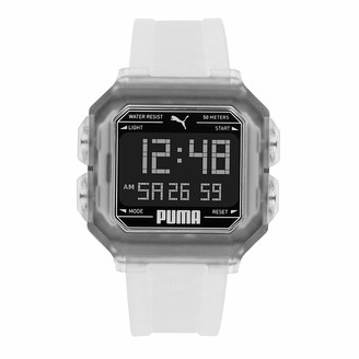 Puma Men Remix Stainless Steel Watch Color: Black/Black Steel (Model: P5017)