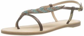 Les Tropéziennes Women's Oktavi Sling Back Sandals
