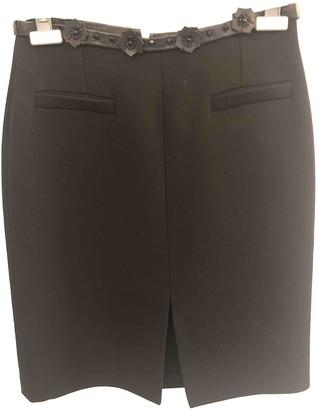 Paul & Joe Black Wool Skirt for Women