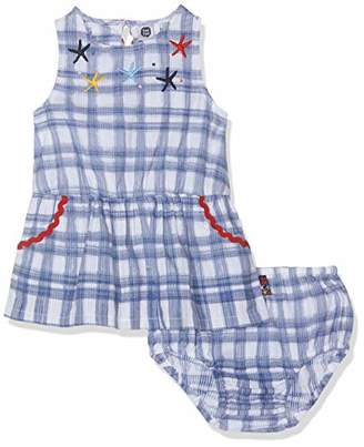 Tuc Tuc Girls POPLIN Dress ARRECIFE DE Coral (Culotte up to 24 Months)