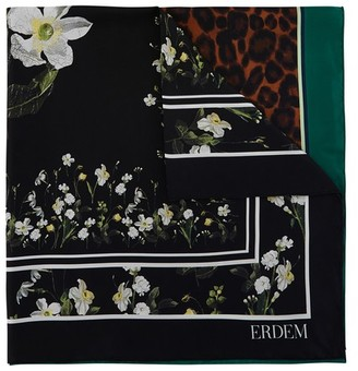 Erdem Small printed square