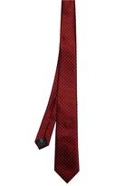 Lanvin Micro-dot jacquard silk tie