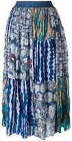 Tsumori Chisato patchwork print skirt