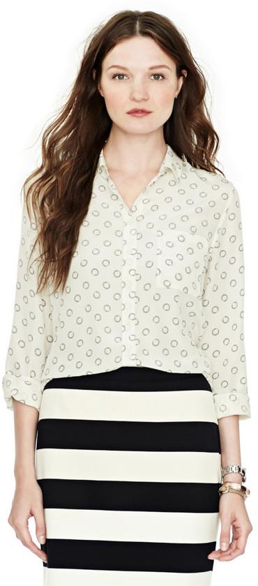 Fossil Alice Classic Silk Shirt