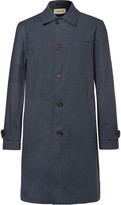 Oliver Spencer - Beaumont Cotton-blend Twill Raincoat