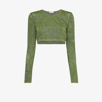 Oseree Lumiere crop top