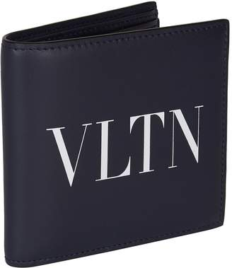 Valentino Garavani Leather Logo Bifold Wallet