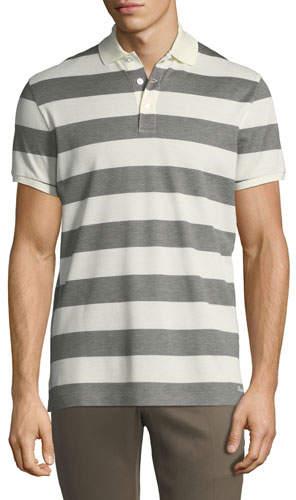 Ralph Lauren Striped Short-Sleeve Polo Shirt
