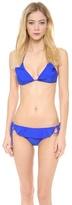 Shoshanna Cobalt Solids Bikini Top