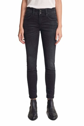 Salsa Push in Secret Skinny Dark Jeans Black