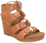 Sofft Women's Carita Ghillie Lace Wedge Sandal