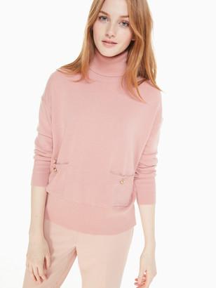 Kate Spade Turtleneck Pocket Sweater