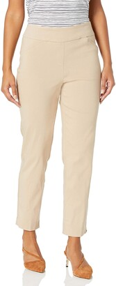 Alfred Dunner Women's Classic FIT Medium Length Pant Casual