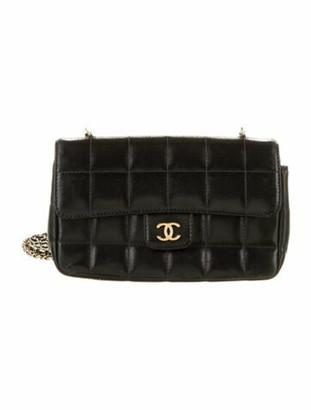 Chanel Square Quilt Mini Flap Bag Black