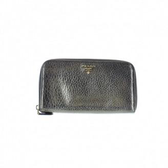 Prada Metallic Patent leather Wallets