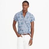 J.Crew Short-sleeve shirt in sailboat print