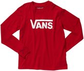 Vans Classic Tee (Kid) - Red-Small