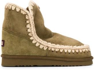 Mou Eskimo 18 sheepskin ankle boots
