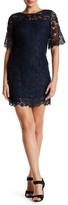 Julia Jordan Short Sleeve Embroidered Dress