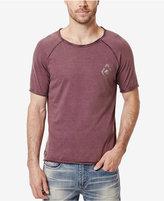 Buffalo David Bitton Men's Tirkley Graphic-Print Logo Raglan-Sleeve T-Shirt