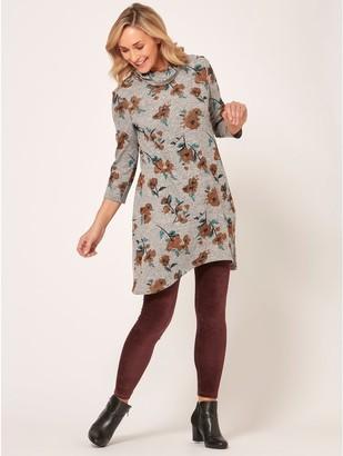 M&Co Spirit floral print dress