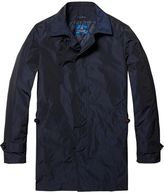 Scotch & Soda Trench Coat With Padded Inner