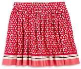 Kate Spade Girls' Floral Tile Skirt - Sizes 7-14