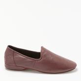 John Lewis Seville Iii Leather Slippers, Oxblood