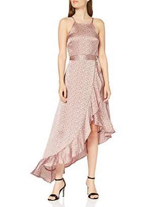 New Look Women's Ruffle Dot Satin Dress,(Manufacturer Size:)