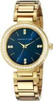 Kenneth Jay Lane Women's KJLANE-2610 Glitz Analog Display Japanese Quartz Gold Watch