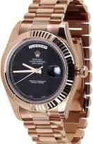 Rolex Day-Date II 18K Rose Gold President Mens Watch