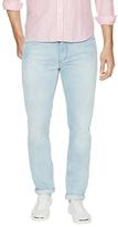 Michael Bastian Bleached Slim Fit Jeans