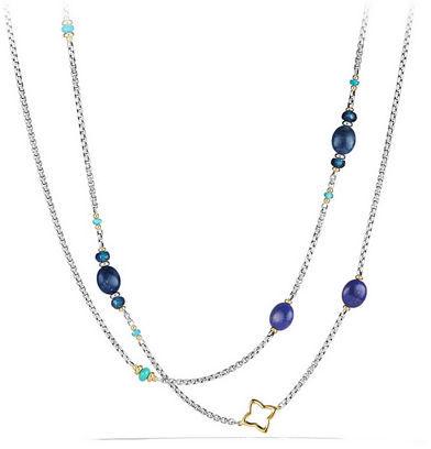 "David Yurman Spring Bead Layering Necklace, 40"""