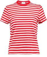 RE/DONE Ringer Striped Cotton-Jersey T-Shirt