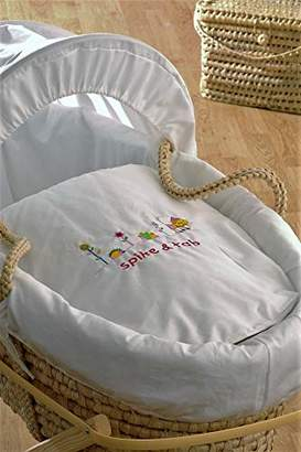 Isabella Collection Alicia Spike and Tab Moses Basket Blanket, 0.2 kg