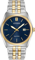 Citizen Men's Eco-Drive Two-Tone Stainless Steel Bracelet Watch 40mm BM7334-58L