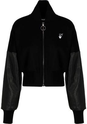 Off-White Cropped Jacket