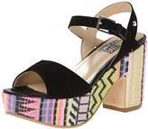 Love Moschino Women's Ethnic Print Wedge Sandal