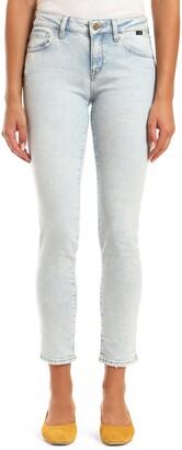 Mavi Jeans Ada Distressed Ankle Boyfriend Jeans