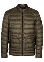 Belstaff Halewood Olive Quilted Shell Jacket