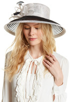 San Diego Hat Company Derby Sinamay Straw Colorblock Hat