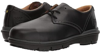 Timberland Boldon Oxford Alloy Safety Toe SD (Black Full Grain Leather) Men's Lace up casual Shoes