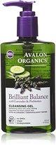 Avalon Brilliant Balance Cleansing Gel, 8 Fluid Ounce
