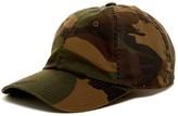 American Needle Washed Camo Baseball Cap