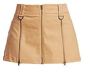 I.AM.GIA I.AM. GIA Women's Maci Zippered Seamed Mini Skirt