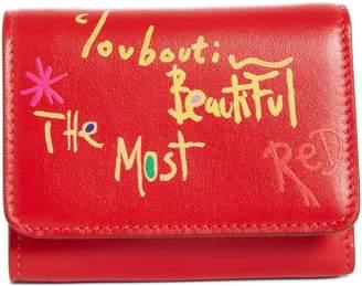 Christian Louboutin Mini Loubigaga Calfskin Leather Wallet