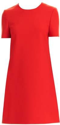 Carolina Herrera Short-Sleeve Shift Dress