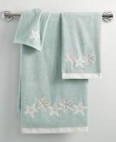 "Avanti Bath, Sequin Shells 27"" x 50"" Bath Towel"